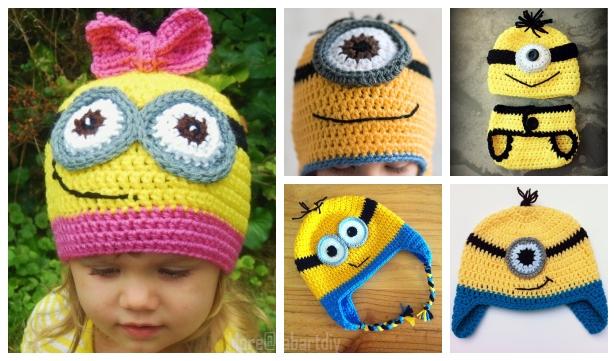 4a0f5f1ceca7d Crochet Minion Hat Free Crochet Patterns   Paid