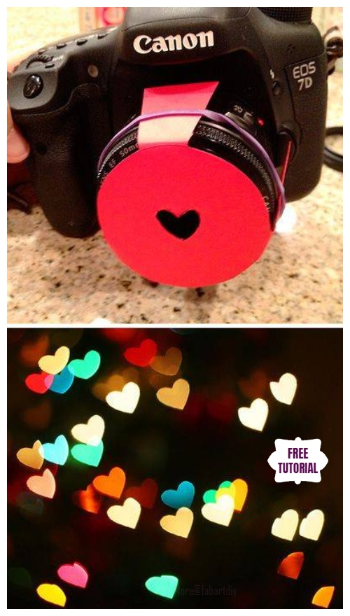DIY Cool Bokeh Filters out of Paper Tutorial - Video