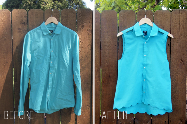 Creative Ideas to Repurpose Old Shirts into New Fashion - Men Shirt into Women Top
