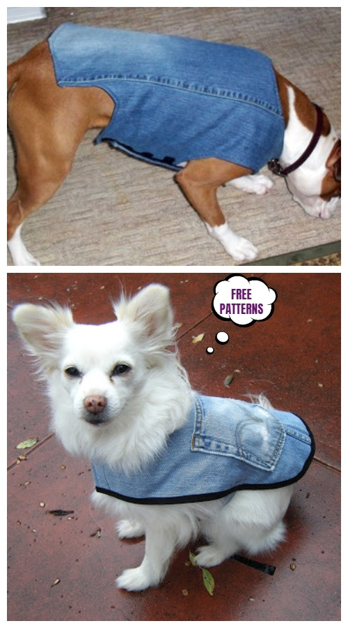 Diy Pet Coat And Sweater Free Sew Patterns Tutorials