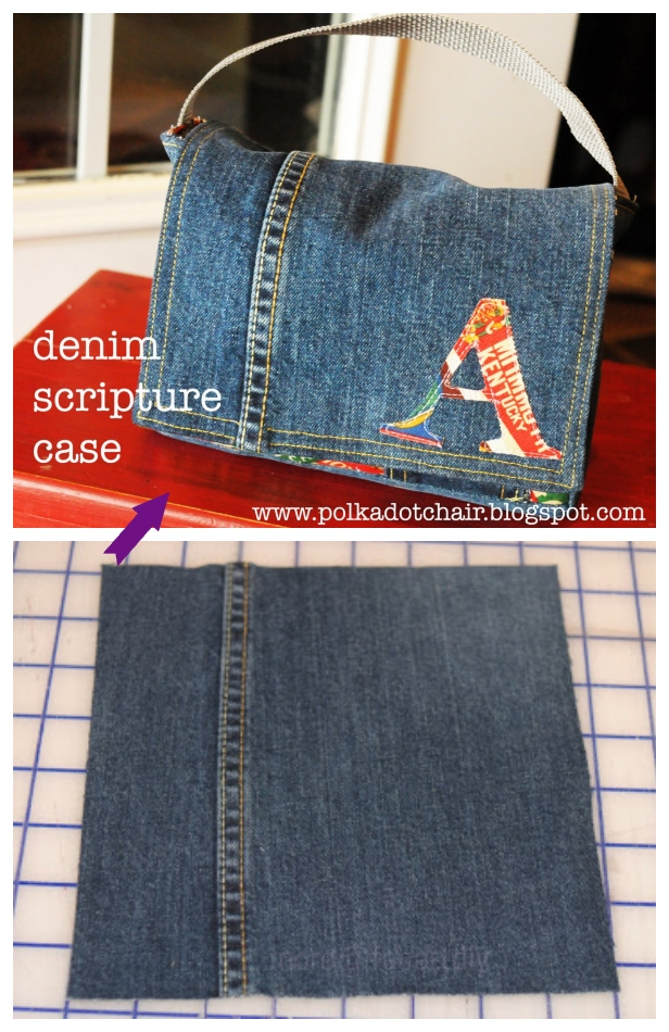 DIY Recycled Scripture Case Tutorial