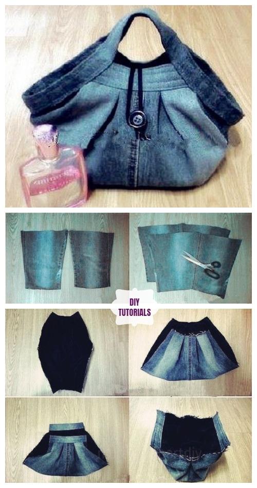 DIY Recycled Stylish Handbag Tutorial