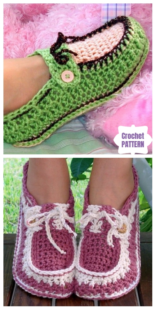 Crochet Women Slippers Shoe Patterns Free Amp Paid Round Up