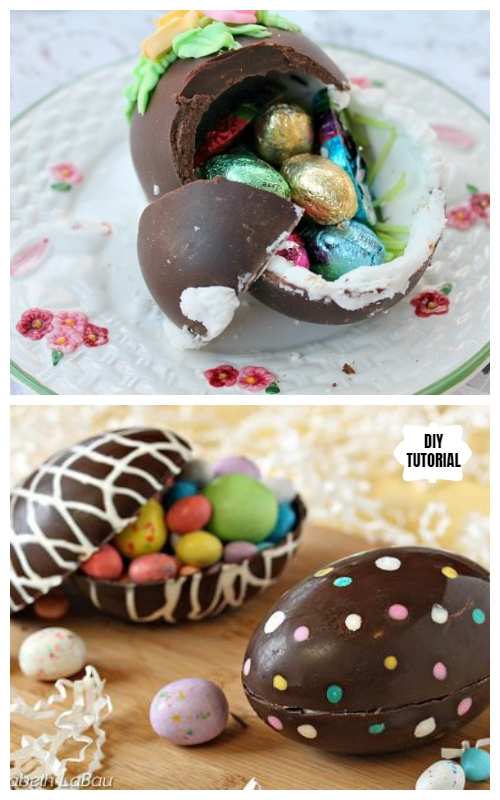 DIY Hollow Chocolate Easter Egg Tutorial