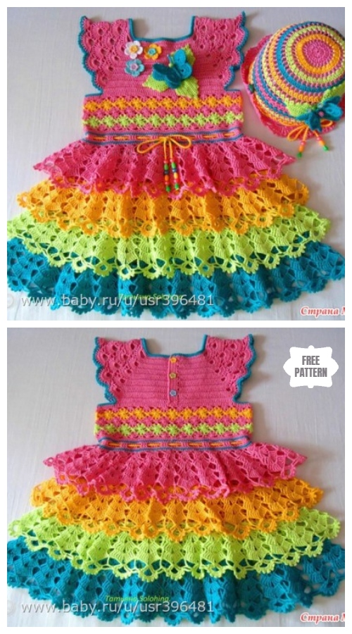 Crochet Summer Dress Free Pattern