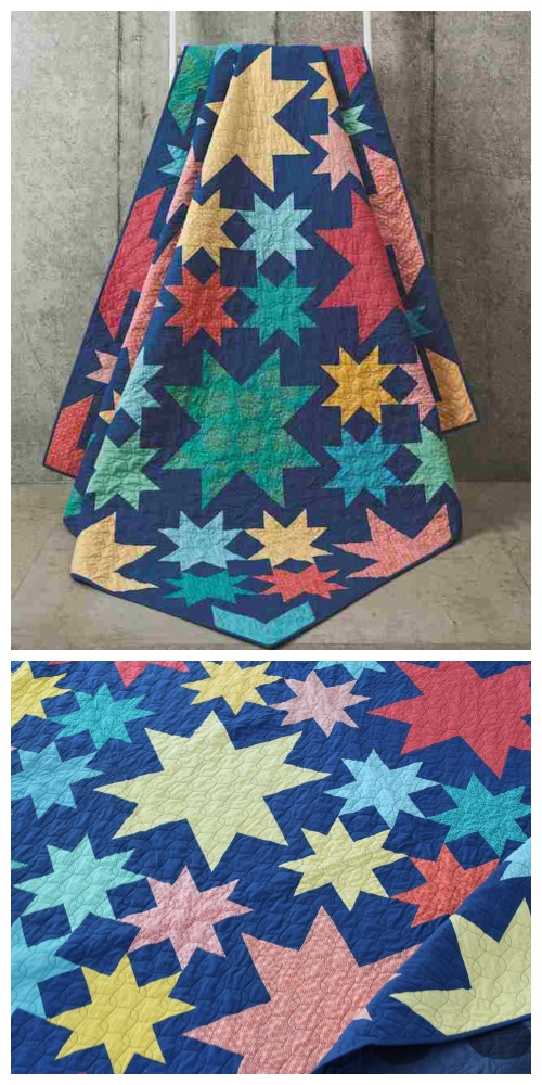 DIY Starry Eye Quilt Inspiration