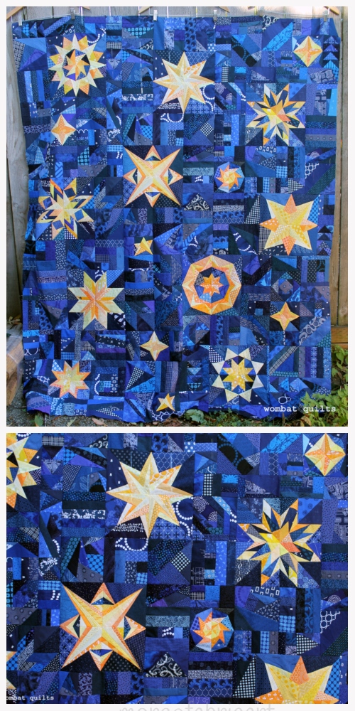 DIY Lovely Starry Eyed Patchwork Quilt Tutorial