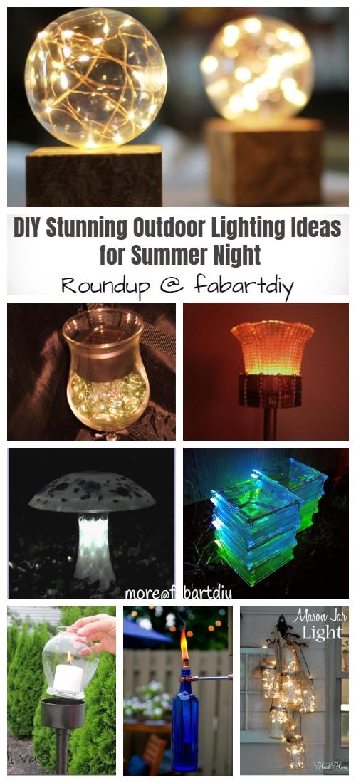 20+ DIY Stunning Outdoor Lighting Ideas for Summer Night