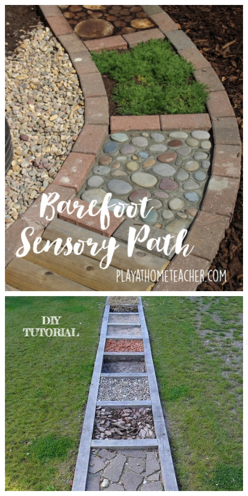 DIY Barefoot Garden Tutorials for Physical and Inner Relaxology