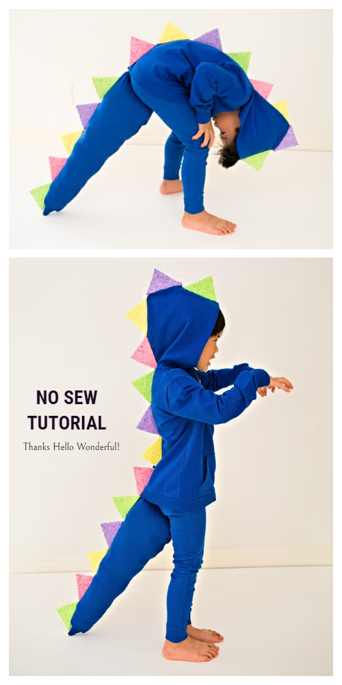 20+ DIY Halloween Costume Tutorials for All Ages - DIY Dragons Love Tacos Costume