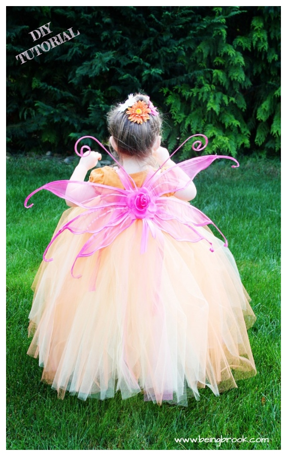 DIY No Sew Tutu Skirt Ideas & Tutorials - Kids Easy Fairy Tutu Dress DIY Tutorial