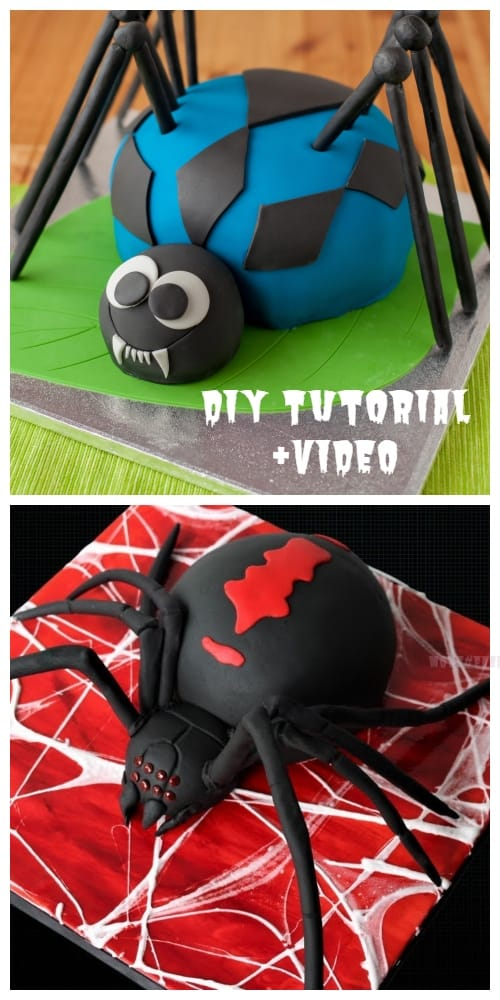 DIY Halloween Spider Cakes Recipes + Video