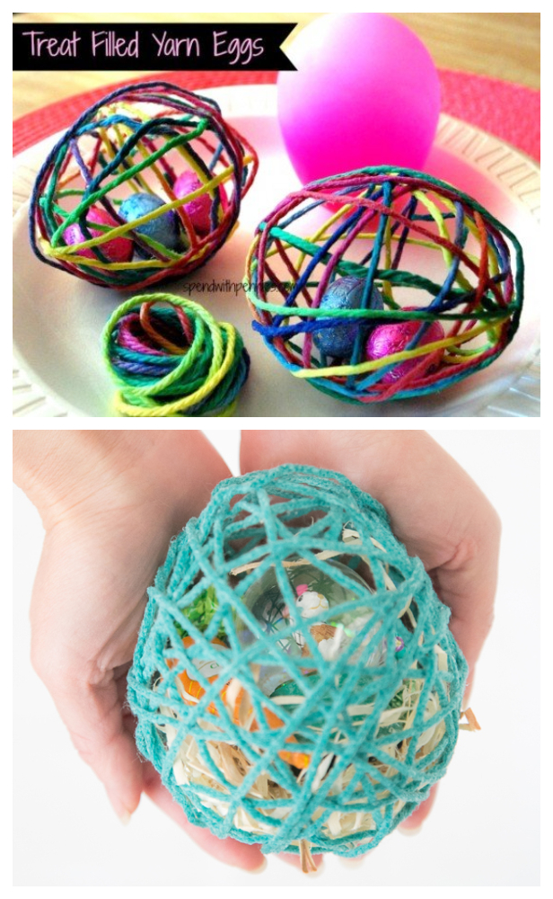 Magic Balloon String Easter Egg Treats DIY Tutorial + Video