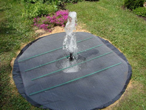 How to Make a Buried Fountain for Garden