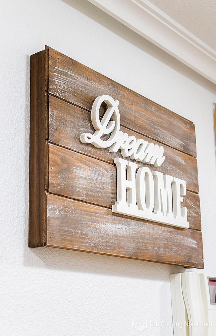 Rustic Wooden Sign Electrical Panel Cover DIY Tutorial- Genius Ways to Hide The Eyesores In Your Home