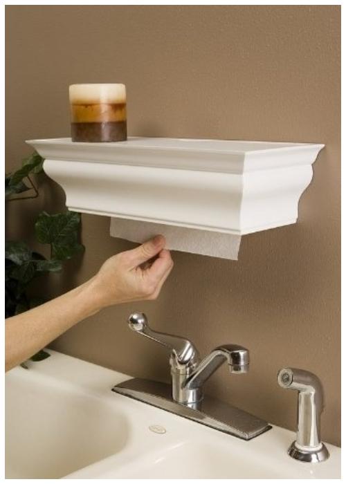 DIY Paper Towel Dispenser Tutorials Ways to Hide The Eyesores In Your Home