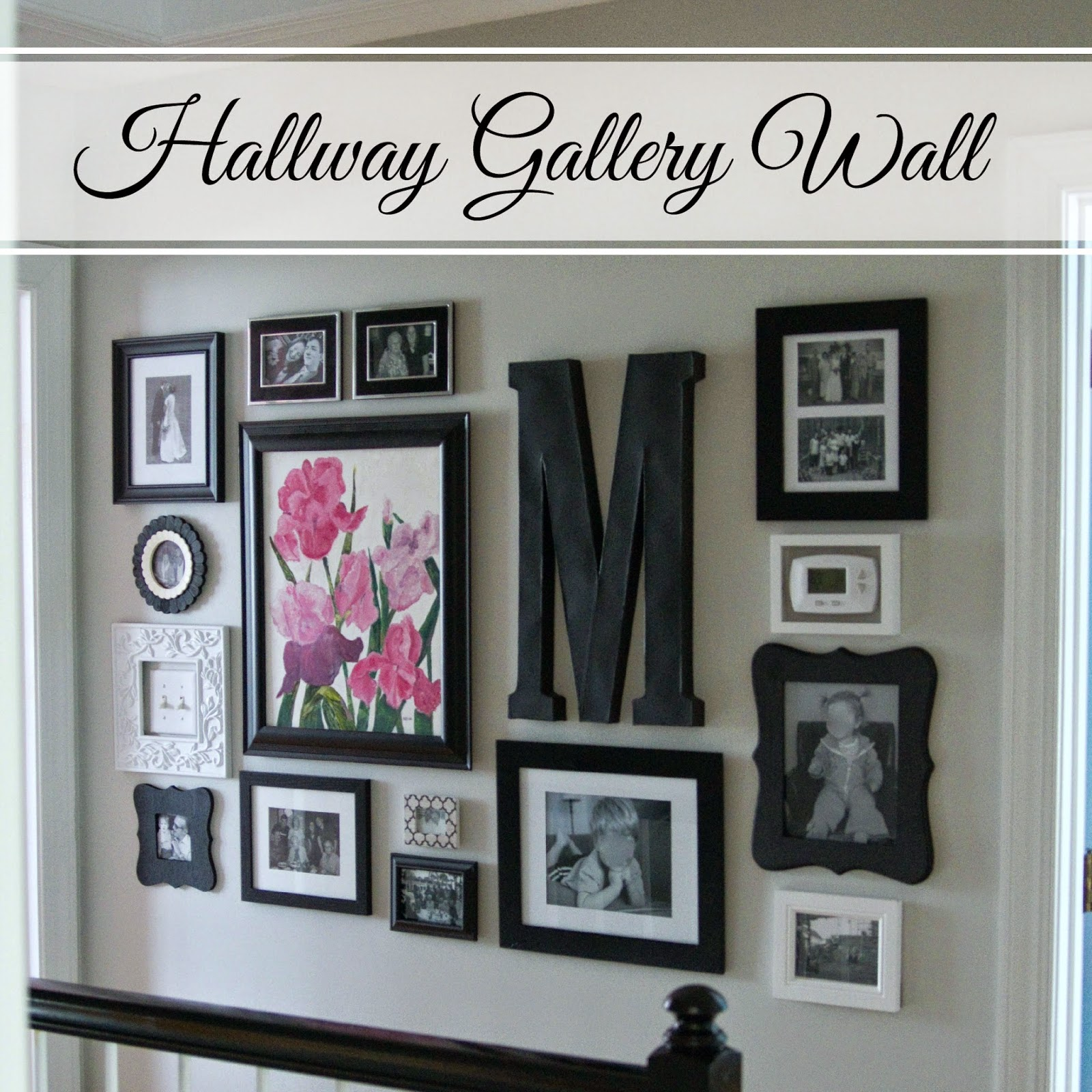 Use pictures frames to distract from light switches and other wall controls.