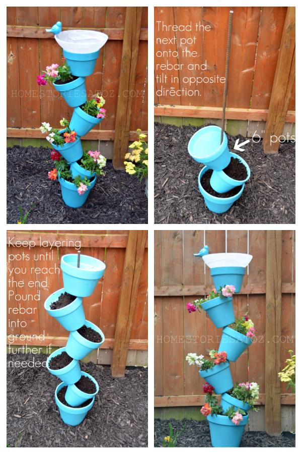 DIY Vertical Garden Planter & Birds Feeder Tutorial
