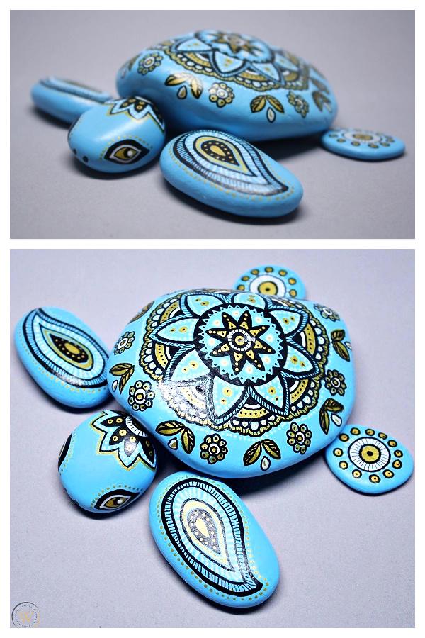 Original Hand Painted Sea Turtle